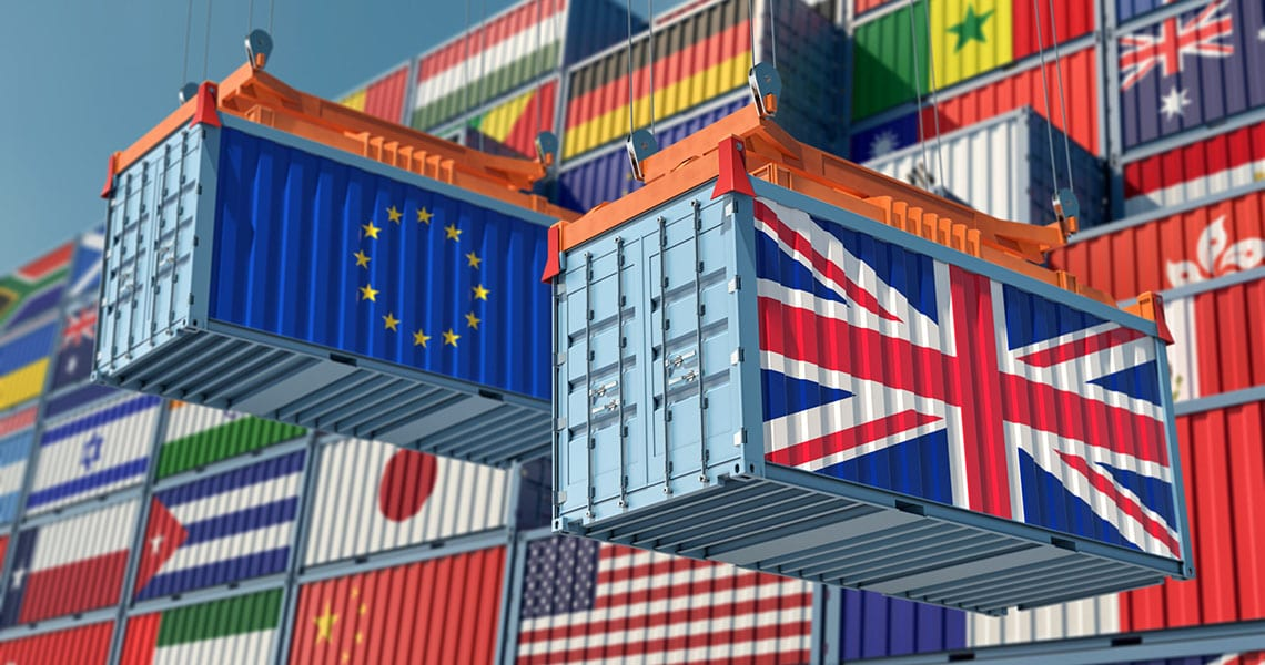 Brexit Freight Containers