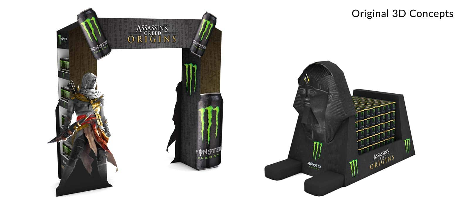 Monster Energy Assassin's Creed POS